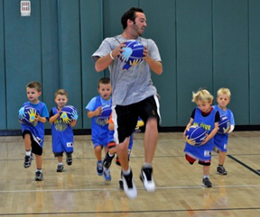 Hi-Five Bay Area Sports debuts basketball for tots in Menlo Park