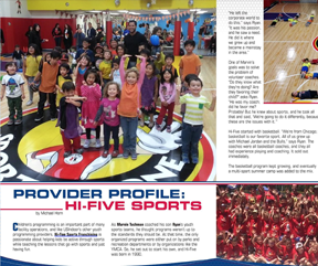 PROVIDER PROFILE HI-FIVE SPORTS